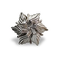 Bellus Domina Sea Flower Cocktail Ring Silver