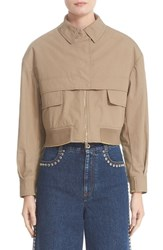 Stella Mccartney Women's Trench Bomber Jacket