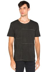 Nudie Jeans Patch Tee Charcoal