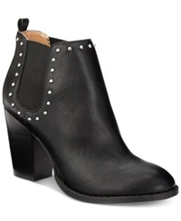 Report Maysonia Studded Chelsea Booties Women's Shoes Black