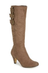 Women's Bella Vita 'Transit Ii' Knee High Boot Taupe Suede
