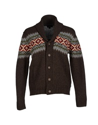 Gant Cardigans Dark Brown
