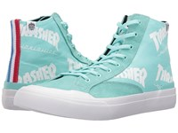 Huf X Thrasher Classic Hi Mint Men's Skate Shoes Green