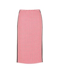 Prada Wool Pencil Skirt Pink