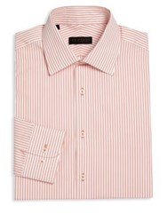 Ike Behar Regular Fit Striped Dress Shirt