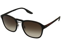 Prada Linea Rossa 0Ps 02Ss Havana Rubber Brown Gradient