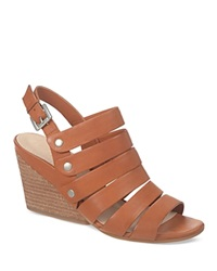 Naya Wedge Sandals Lassie Strappy Orange