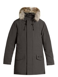 Canada Goose Langford Fur Trimmed Down Parka Grey