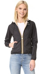 N 21 K Way Reversible Sports Jacket Light Pink Black