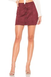 Bb Dakota Jack By Cant Buy Me Love Skirt Burgundy