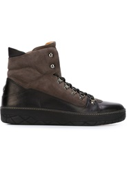 Moncler Classic Hiking Boots Black