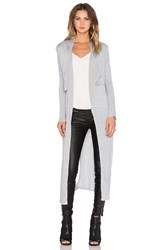 Craft And Commerce Long Cardigan Gray