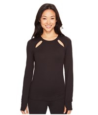 Alo Yoga Mantra Long Sleeve Black Women's Clothing