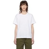 Acne Studios White Nash Face T Shirt