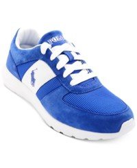 Polo Ralph Lauren Men's Cordell Jogger Sneakers Men's Shoes Sapphire