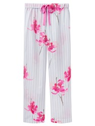 Joules Caroll Orchid Stripe Pyjama Bottoms Blue Pink