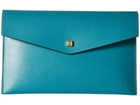 Lodis Blair Deena Pouch Ivy Taupe Wallet Blue