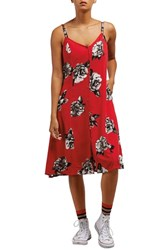 Volcom Canary Dress Red Rad