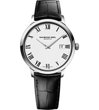 Raymond Weil 5488 Stc 00300 Toccata Stainless Steel And Leather Watch