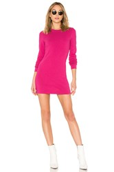 Cotton Citizen The Tokyo Mini Dress Fuchsia