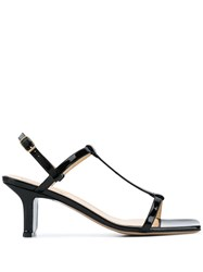 Fabio Rusconi Black Strappy Sandals