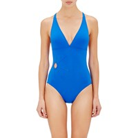 Eres Orion One Piece Triangle Swimsuit Blue