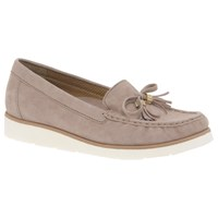 Gabor Isabelle Bow Loafers Rose