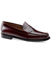 G.H. Bass And Co. Men's Logan Loafers Men's Shoes Burgundy
