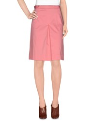 Cutie Skirts Knee Length Skirts Women Pink