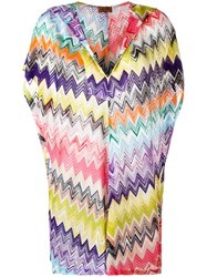 Missoni Zig Zag Print Beach Dress