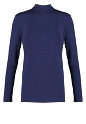 Sisley Long Sleeved Top Navy Dark Blue