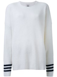 Unif Ribbed Sweater White