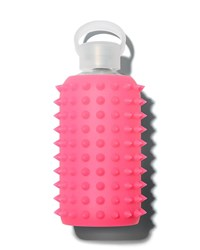 Bkr Glass Water Bottle Spiked Rosy 500 Ml Pink