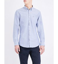 Tommy Hilfiger New York Fit Cotton Shirt Dutch Navy