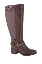 Intaglia Nashville Extra Wide Calf Boot Brown