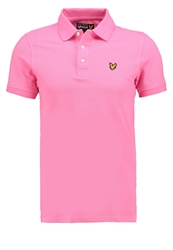 Lyle And Scott Polo Shirt Hot Pink