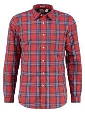 Dockers Fitted Shirt Red