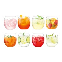 Lsa International Balloon Tumbler Set Of 8