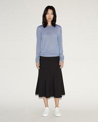 Jil Sander Curcuma High Waist Skirt Black