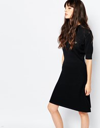 Fred Perry Vintage Look Knit Dress Black