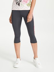 Ted Baker Fit To A T Ridio Palace Garden Print Cropped Leggings Multi
