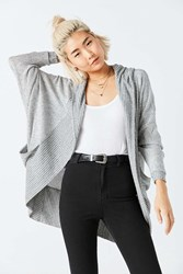 Silence And Noise Silence Noise Cali Cocoon Cardigan Grey Multi