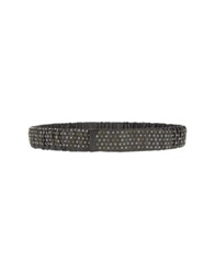 Post And Co Belts Black