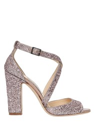 Jimmy Choo 100Mm Carrie Glittered Sandals