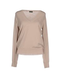 Fred Mello Sweaters Beige