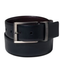 Kenneth Cole Reaction Big And Tall Reversible Dress Belt Black Brown