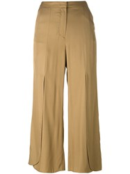 Dorothee Schumacher Cropped Pants Green