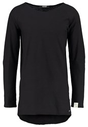 Scotch And Soda Long Sleeved Top Black