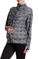 Belabumbum Active Room To Flow Jacket Maternity Blue