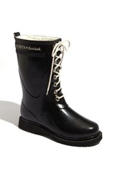 Women's Ilse Jacobsen Hornb K Rubber Boot Black